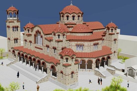 Περί του νέου υπο κατασκευήν Ιερού Ναού του πολιούχου μας Τιμίου Προδρόμου